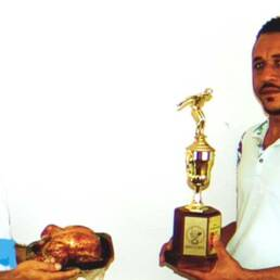 It takes a world class athlete to become the Dominican National Champion of Chicken Eating.